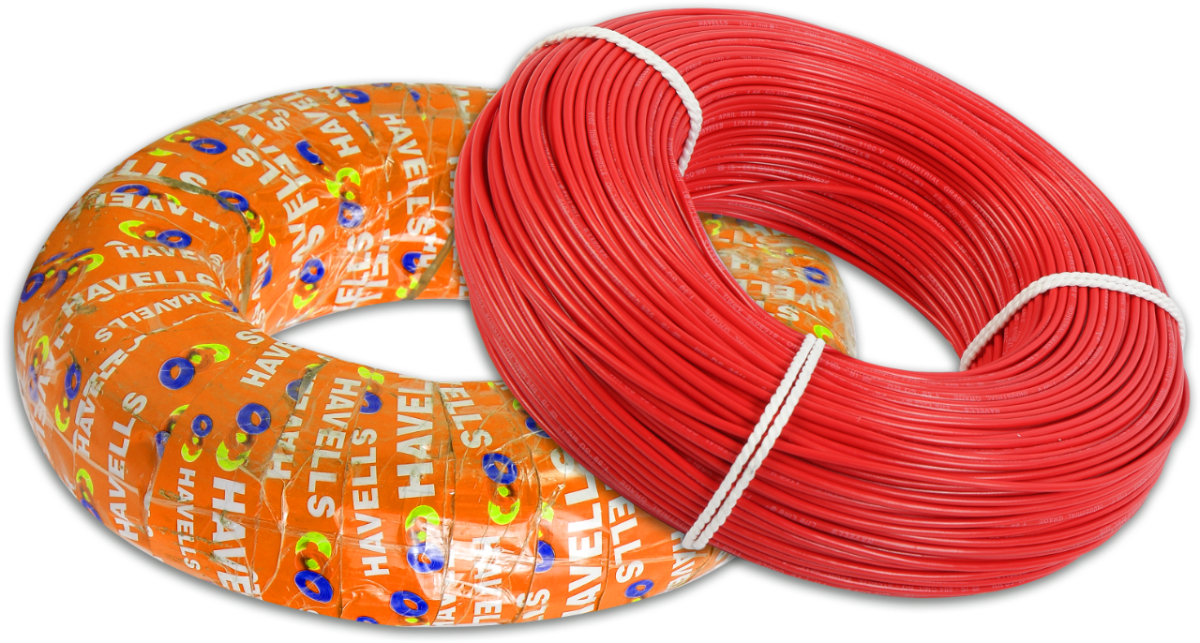 Life Shield HFFR Cables (Red)