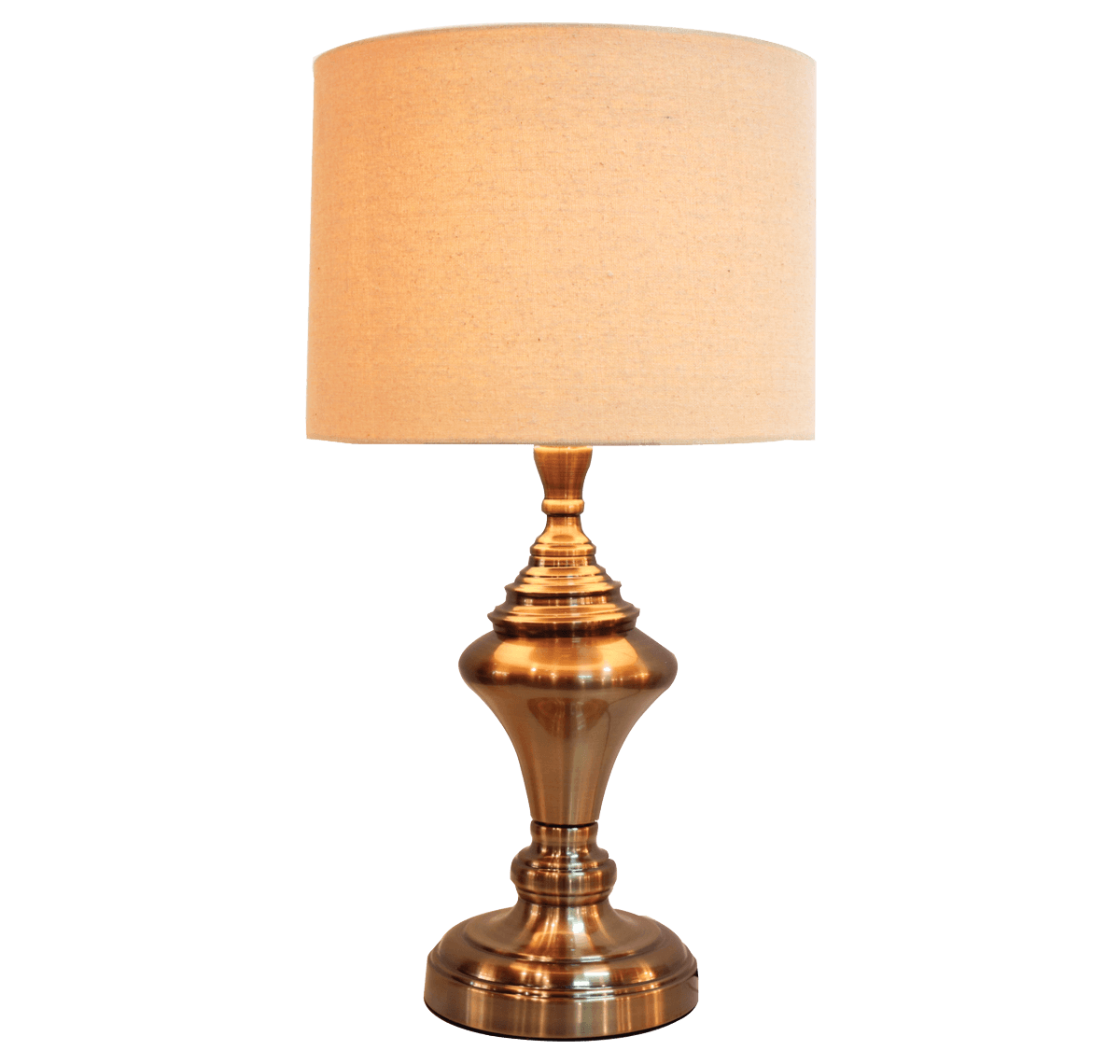 Harriet Table Lamp Flax Shade ABR
