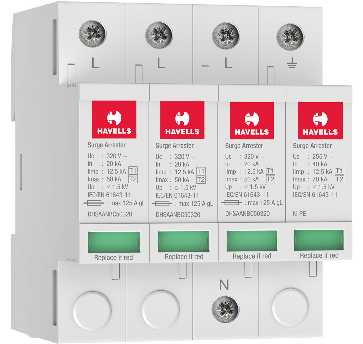 Type 1+2 AC Surge Protection Devices