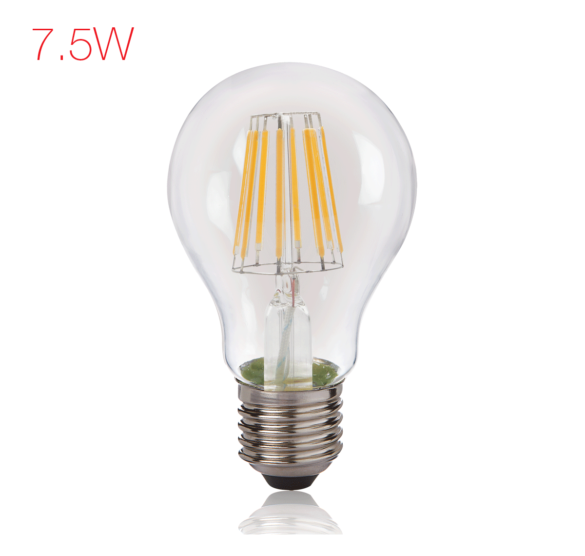 BrightFill LED Filament A60 - 7.5 W