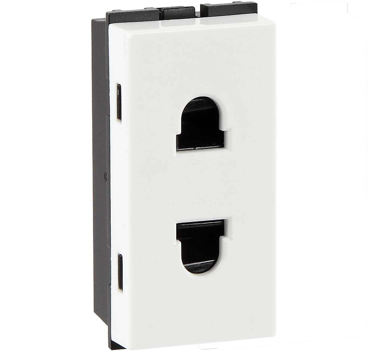6 A 2 Pin Shuttered Socket
