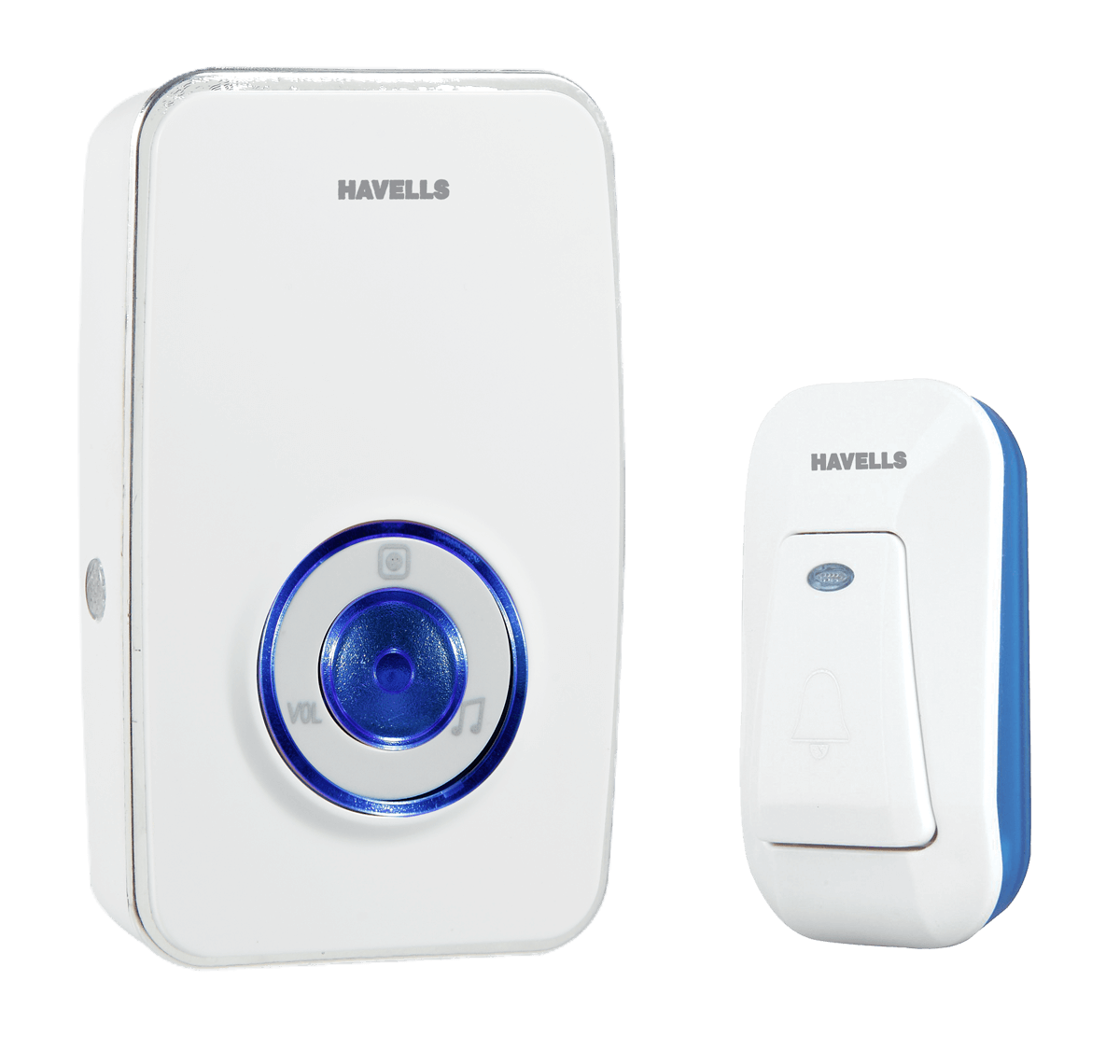 GLOWBELL WIRELESS AC PLUGIN DOORBELL