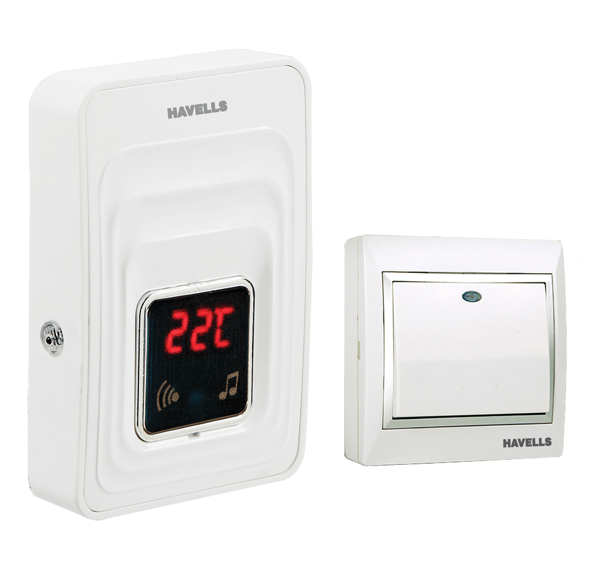 SENSEBELL WIRELESS AC PLUGIN DOORBELL