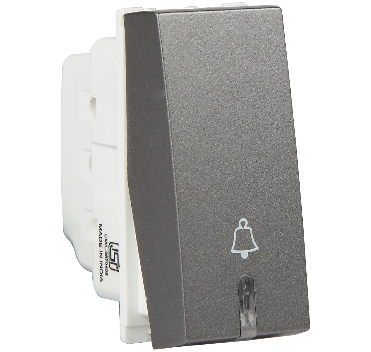 10 A Bell Push With Ind. switch