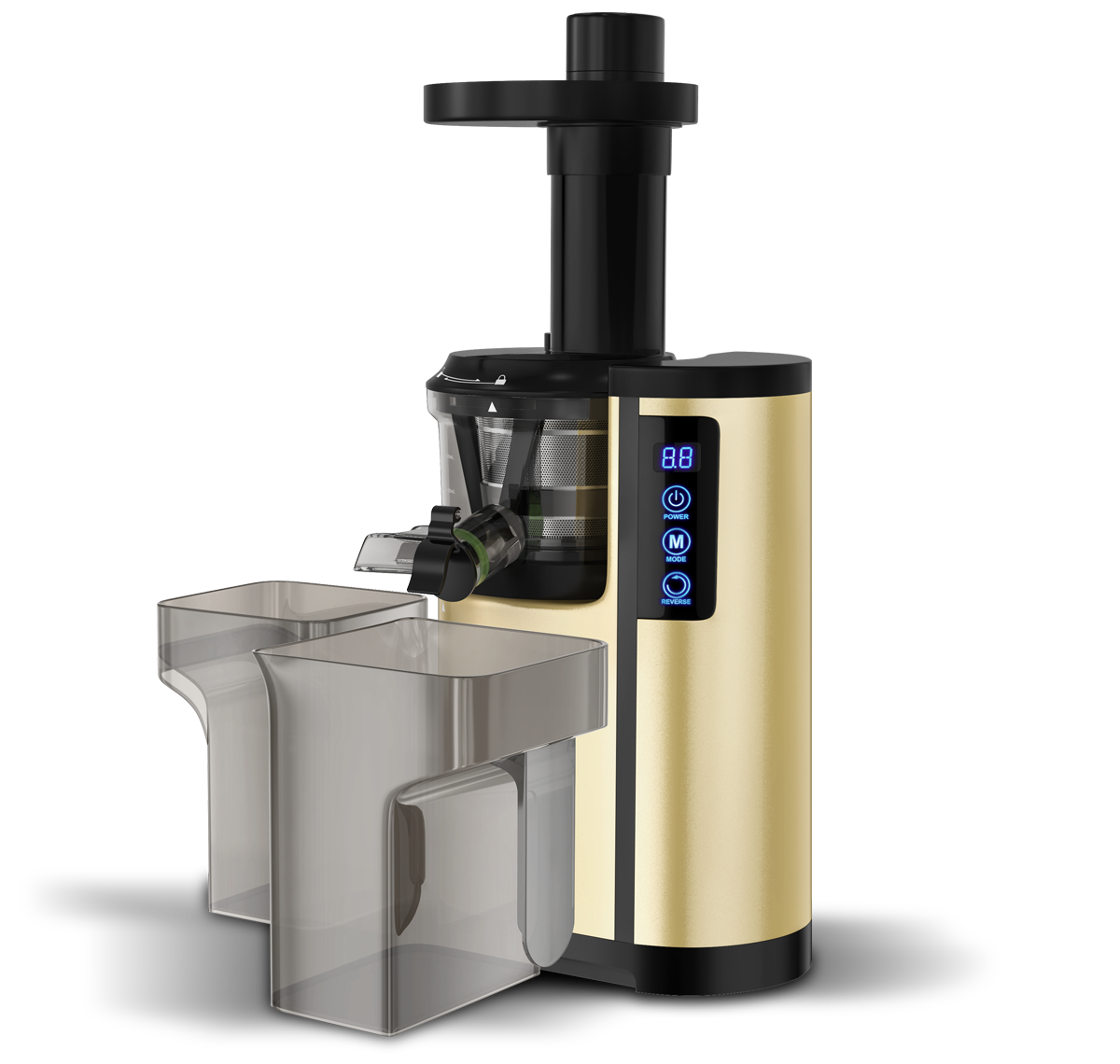 Nutrisense 150 W Cold Press Slow Juicer