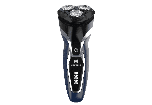 RS7130 - Dual Track 3 Head Shaver with Built in pop-up trimmer, Super Fast Charge, For Wet/Dry Shave