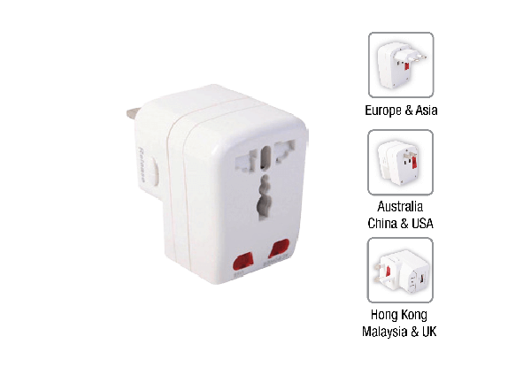 Univ Travel Adaptor USB 1 A