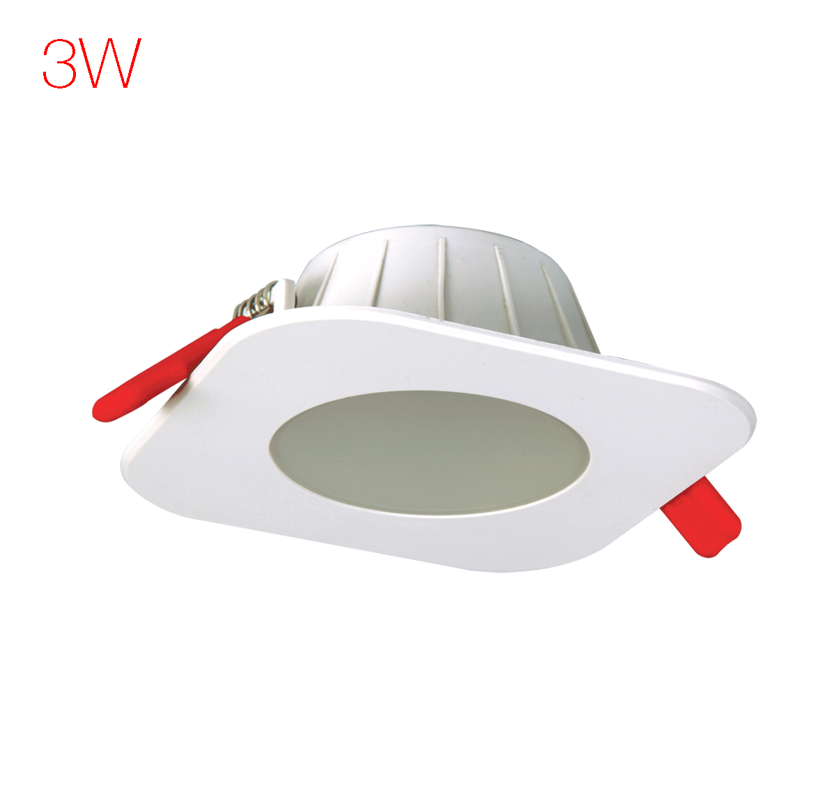 Lumeno LED 3 W Downlighter Square