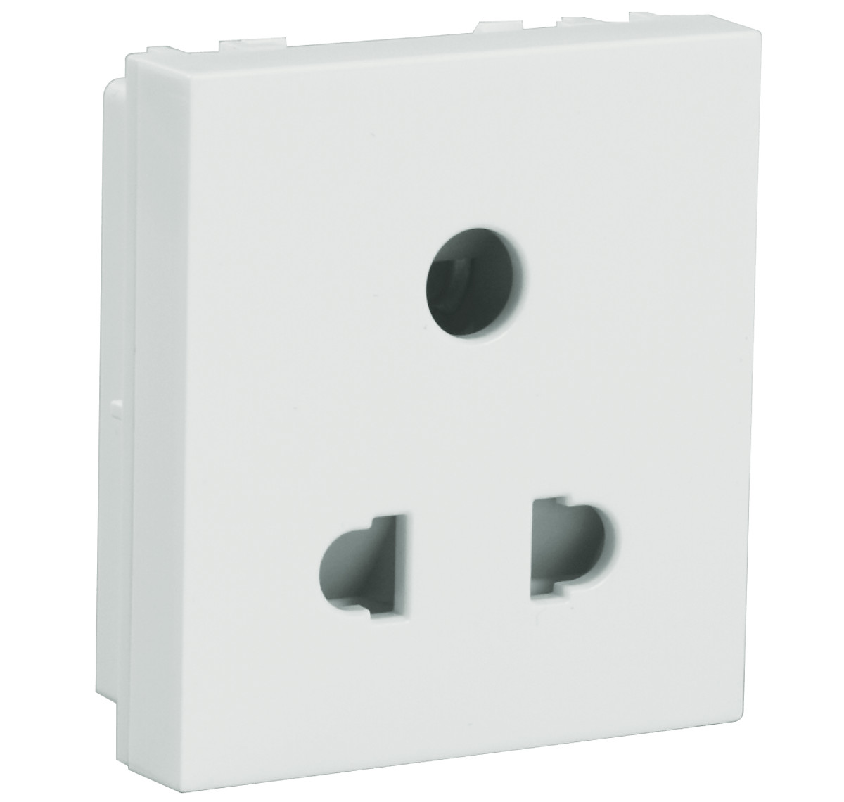 6A 3 Pin Shuttered Socket