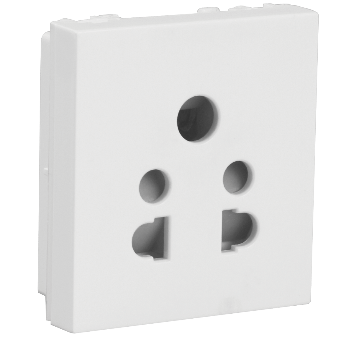 6A 5 Pin Shuttered Socket
