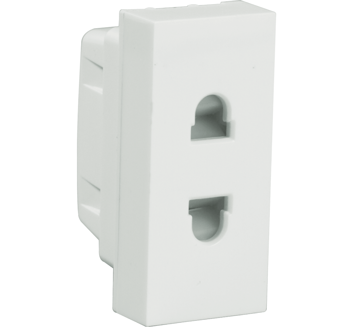 6A 2 Pin Shuttered Socket